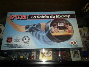 JEUX SOIRÉE DU HOCKEY VHS