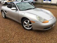 2000 'V' Porsche Boxster 2.7 Cabriolet Sports Convertible Petrol Manual. Px Swap