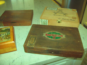Nine Vintage Cigar Boxes Kitchener / Waterloo Kitchener Area image 5