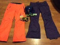 Snowboard and ski gear for sale