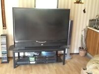 Gaming tv with stand