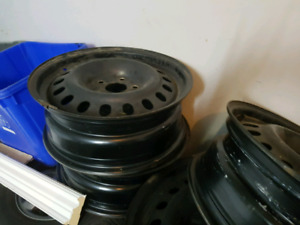 "17"" steel rims $140 x4pcs"