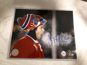 Jose Theodore Signed 8x10 picture
