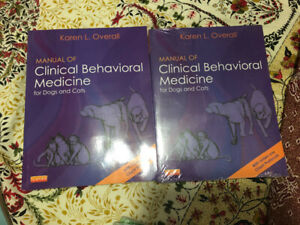 Manual of clinical behavioural medicine for dogs and cats