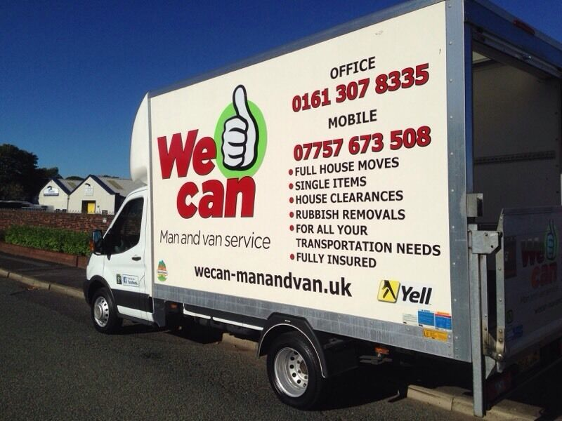 Man and Van, Jobs from £20, House Clearance, Reliable Removal Services call 01613078335