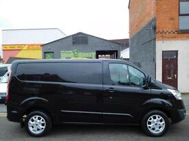 Finance Me..Ford Transit Custom Limited 270 Panther Black 125BHP (52)