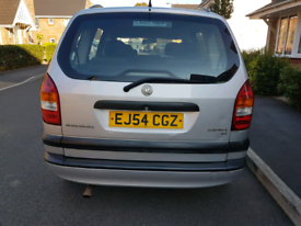 7 Seater, Auto, Zafira, 1 Year MOT, Good Runner, £975