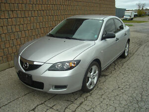 2007 MAZDA 3 GS.. SAFETIED & E-TESTED