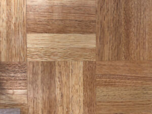 Red Oak and Maple Parquet 5 and 7 bar Parquet