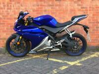 2017 YAMAHA YZF R125 ABS, LEARNER LEGAL, VERY LOW MILES--DELIVERY AVAILABE