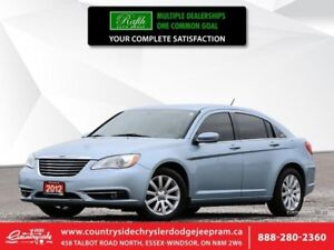 2012 Chrysler 200 TOURING  HEATED SEATS|REMOTE START|FOG LAMPS|A