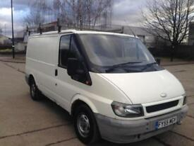 2005 55 FORD TRANSIT 2.0 TDI 100 280 SWB PANEL VAN FULL MOT LOW 123K PX SWAPS