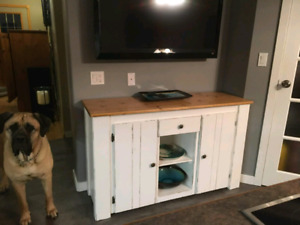 Farmhouse buffets and tv stands