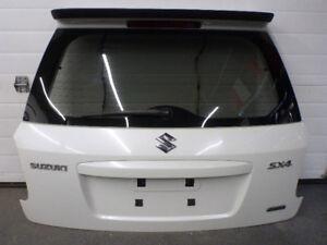 Rear Hatch WITH Glass & Spoiler Wing 2007 Suzuki SX4 Hatchback