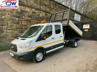 2016/66 Ford Transit 2.2TDCi 350 L3H1 125PS RWD DRW Double Cab Tipper