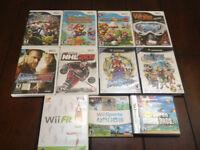 lot Jeux de Wii Game Cube et Ds a vendre
