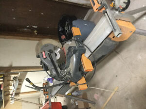 10 inch Miter Saw and Stand