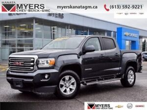 2016 GMC Canyon JET BLK CLOTH  4X4 CREW CAB NAV BOSE ONE OWNER T