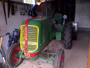 Beautifully restored antique 1942 Oliver tractor