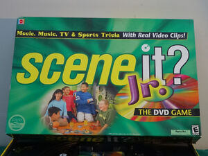 REDUCED  Scene it? Jr.  (The Dvd game) Cornwall Ontario image 1
