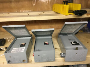 Spa pack Gfci box for sale for hot tubs or panels - also breaker