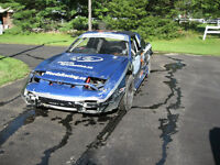 Nissan 240sx dirt track race car ready