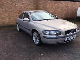 Volvo S60 2.3 T5 PETROL AUTOMATIC SALOON GOLD auto 2001MY T5 S
