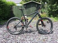 Cube Stereo 160 Super HPC Race 650b Mountain Bike 2015 Mint condition Size Large