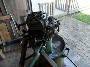 1951 Johnson 10 HP Outboard