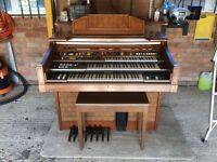 Yamaha D85 triple keyboard organ