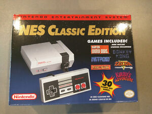 Nintendo Entertainment System: NES Classic Edition Console(BNIB)