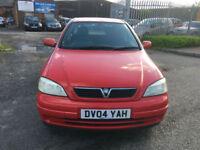 Vauxhall/Opel Astra 1.4i 16v 2004MY LS