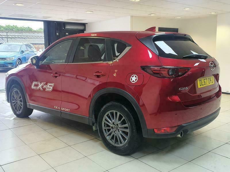2018 Mazda CX-5 D SE-L NAV ESTATE Diesel Manual