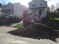 Can U dig it, trenches, post holes,retaining walls soil leveling