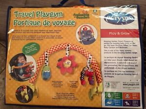 Travel play gym