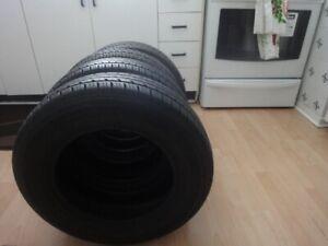 4 pneus d'éte  185/70/14