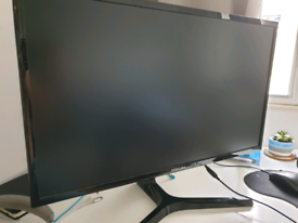 Computer monitor (screen) with Hdmi cable