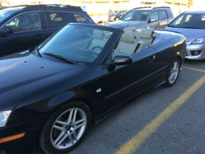Let the sunshine in. SAAB Aero convertible