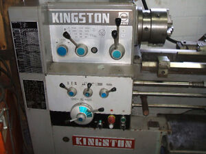 14 x 40 inch Kingston lathe with taper attachment