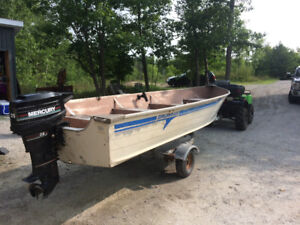 Motor and Boat