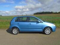 2005/05 VOLKSWAGEN POLO 1.4 SE 5DR BLUE - IDEAL 1ST CAR - GREAT SPEC!