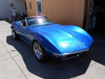 1971 CHEVROLET CORVETTE STINGRAY CONVERTIBLE DRIVE AWAY Hendon Charles Sturt Area Preview