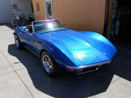 1971 CHEVROLET CORVETTE STINGRAY CONVERTIBLE DRIVE AWAY