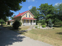 3.4 ACRE HOBBY FARM BESIDE SAUGEEN GOLF COURSE- BEAUTIFUL SPOT
