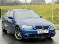 2010 60 BMW 3 Series 2.0 320d Sport Auto Plus 4dr WITH FSH+PRO NAV+HEATED SEATS+