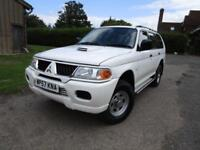 Mitsubishi Shogun Sport 2.5TD Classic***ONLY 54,000 MILES+DOCTOR OWNER***