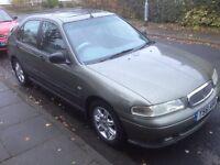 Rover 400 low mileage long mot