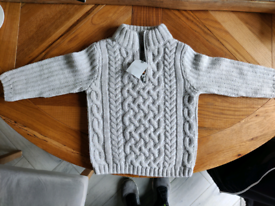 Next baby woollen jumper