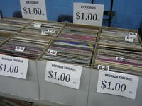 $1 Vinyl Records at Hillhurst Sunnyside Flea Market Sunday 7-3