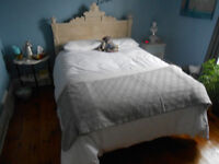 Sears posturepedic mattress, Box Spring, and frame! (Double)